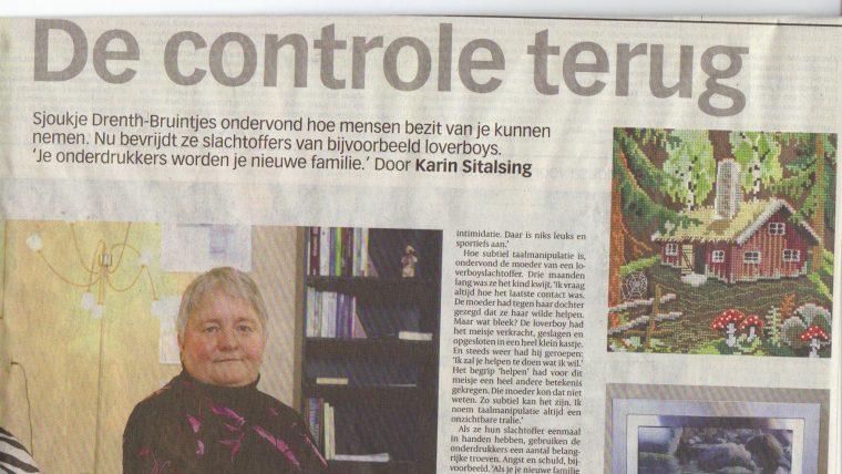 Volkskrant: De controle terug!