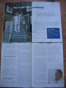 Sjoukje Drenth Bruintjes in politievakblad Blauw over loverboys